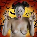 SET: Happy Halloween Naked Zombie