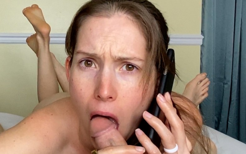 POV Cheating Fuck While I Phone Your Girlfriend