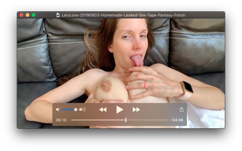 Homemade Leaked Sex Tape Fantasy FetishJune 3, 2019