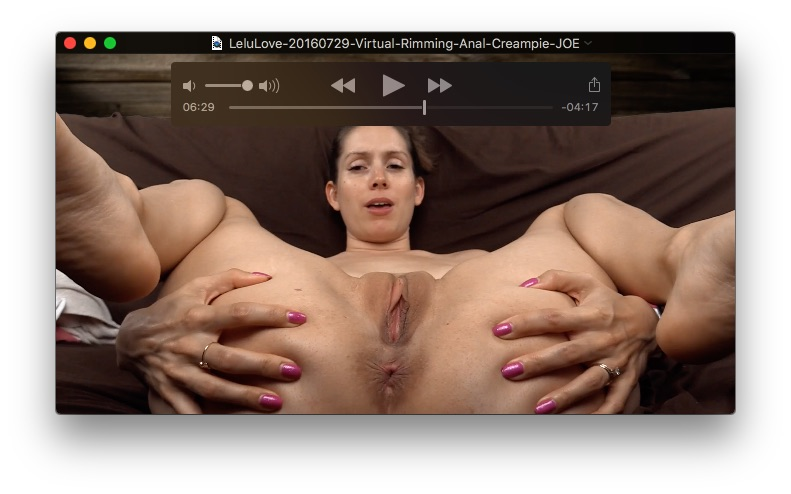 Marie Luv Anal Creampie