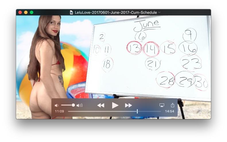 June 2017 Cum Schedule<br>June 1, 2017