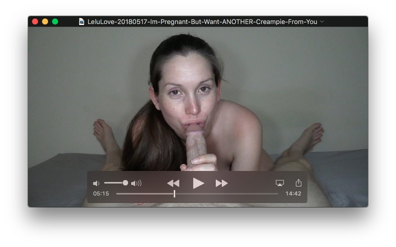 Im Pregnant But Want ANOTHER Creampie From YouMay 17, 2018