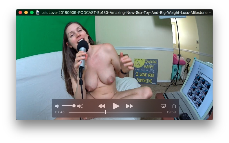 PODCAST: Ep130 Amazing New Sex Toy And Big Weight Loss MilestoneSeptember 9, 2018