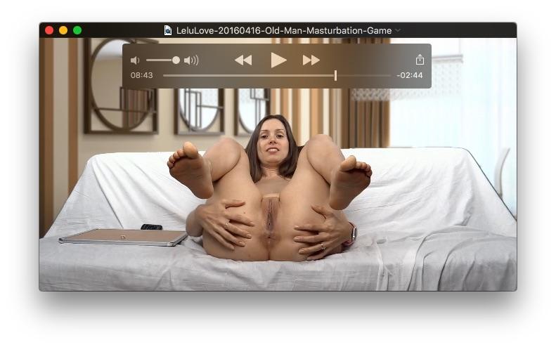 Old Man Masturbation Game<br>April 16, 2016