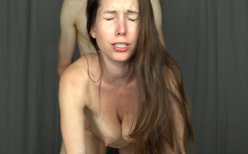 Creampie Fucked Doggystyle Facing YOU With Queefing
