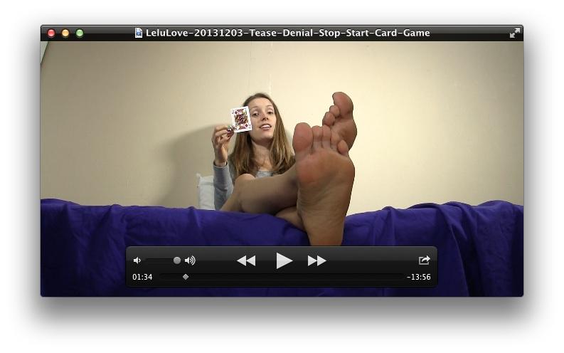 Tease Denial Stop Start Card Game<br>February 12, 2014