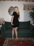 Black Dress Upskirt Pussy