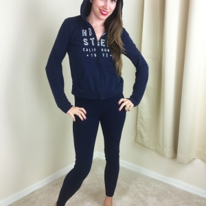 SET: Leggings With Multiple Hoodies